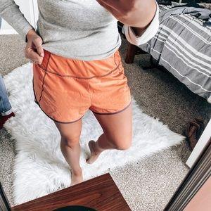 Reebok coral shorts